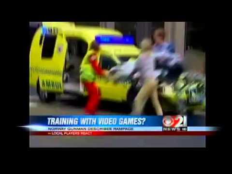 Norway Killer Practiced With Violent Video Games