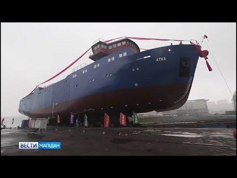 """Краболовное судно нового поколения построила компания """"Тихрыбком"""""""
