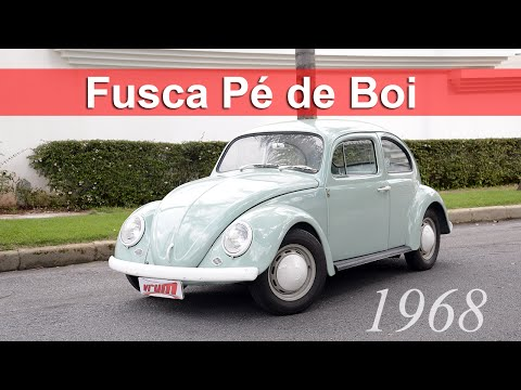 Volkswagen Fusca Pé De Boi: Conheça A História Da Rara Versão Do Besouro