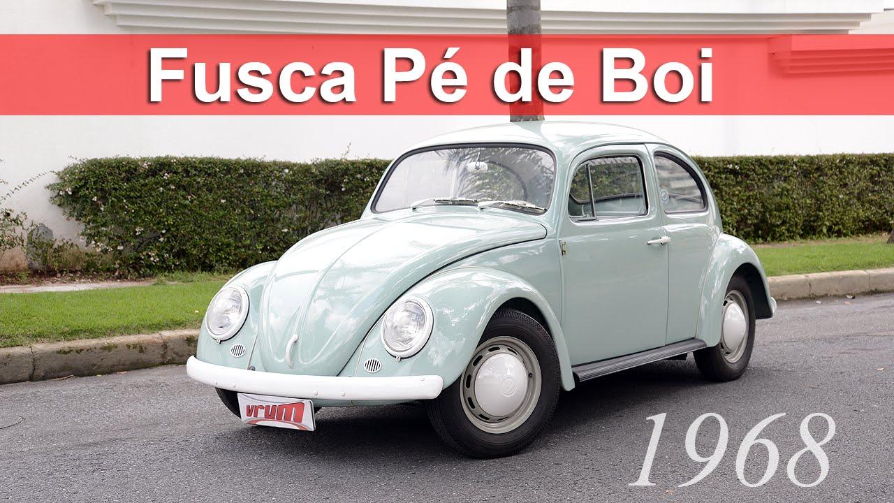 Volkswagen Fusca Pé de Boi: conheça a história da rara versão do besouro Video Thumbnail
