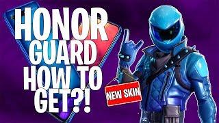 NYTT SKIN! Honor Guard - Sjeldneste skinnet so far?! HOW TO GET?