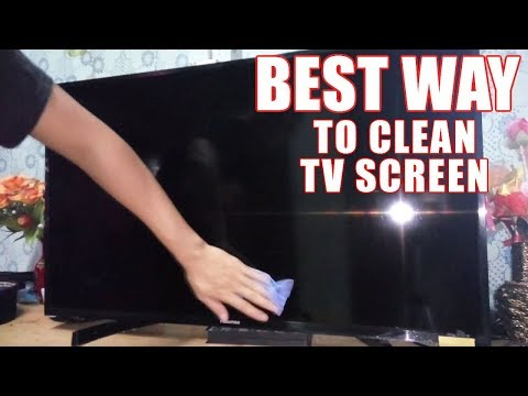 How to Clean Your TV Screen (LED, LCD, Plasma) – Best Way to Clean Flat Screen TV!