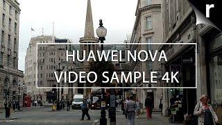 Huawei Nova camera video sample (4K UHD)