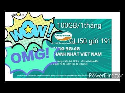 Hướng Dẫn Cách đăng Ký 4G Viettel ( 100GB/1 Tháng )