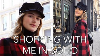Fashion Shopping in NYC | Model In Soho, Fall Fashion, & City of Dreams | Sanne Vloet