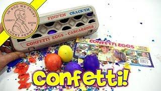 Confetti Easter Eggs - Hide Em, Find Em, Crack Em!