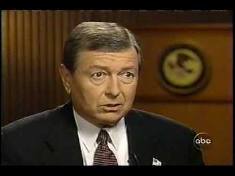 John Ashcroft on Nightline - October 11, 2001 pt 2