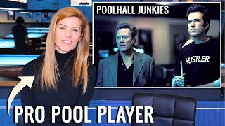 Pro Pool Player Breaks Down Pool Movies And TV Shows | Jennifer Barretta & Rollie Williams Ep. 1