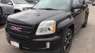 2017 GMC Terrain Nightfall Edition Sunroof Black Oshawa ON Stock #170273