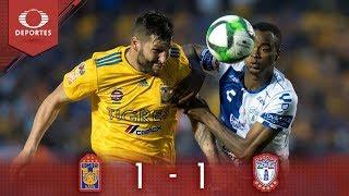 Resumen: Tigres 1 - 1 Pachuca | Clausura 2019 - Cuartos de final | Televisa Deportes