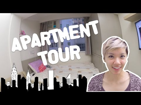 WHAT £1000 WILL GET YOU IN HONG KONG, CWB | small apartment Hong Kong tour