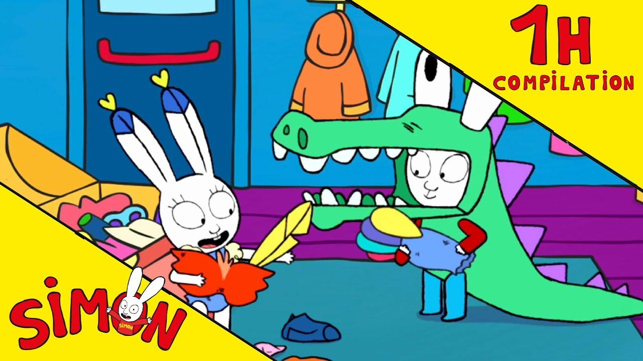 Simon *La Fête de l'école* COMPILATION 1h Saison1+3 HD [Officiel] Dessin animé pour enfants