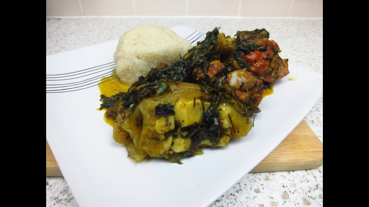 How to cook afang soup nigerian food recipes youtube forumfinder Gallery
