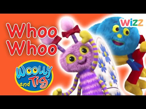 Woolly and Tig - Whoo Whoo | A Train Station with Floot
