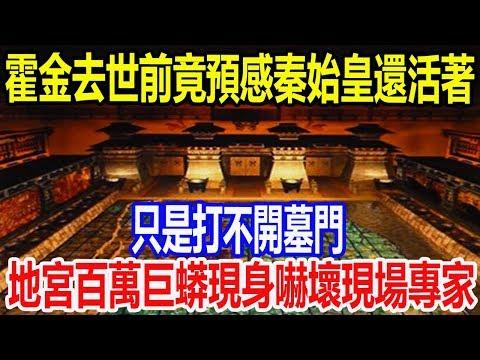 霍金去世前竟預感秦始皇還活著,只是打不開墓門,地宮百萬巨蟒現身嚇壞現場專家!