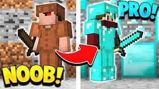 How to go from NOOB to PRO in Minecraft!
