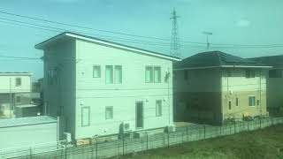 東北本線(普通)車窓 小牛田→仙台/ E721系 小牛田1424発