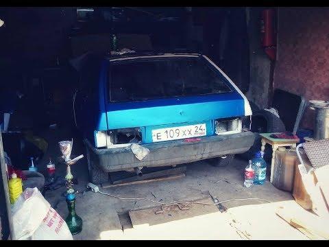 Обклеил машину китайской пленкой.ВАЗ 2109.