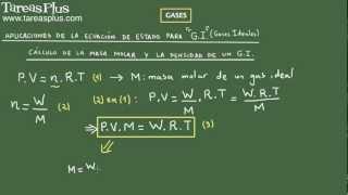 Gases y ecuación de estado parte 2