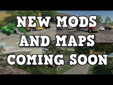 NEW MODS AND MAPS COMING SOON TO CONSOLES |  Farming Simulator 19