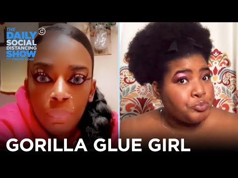 Can Gorilla Glue Be Used on Hair? Absolutely Not | The Daily Social Distancing Show