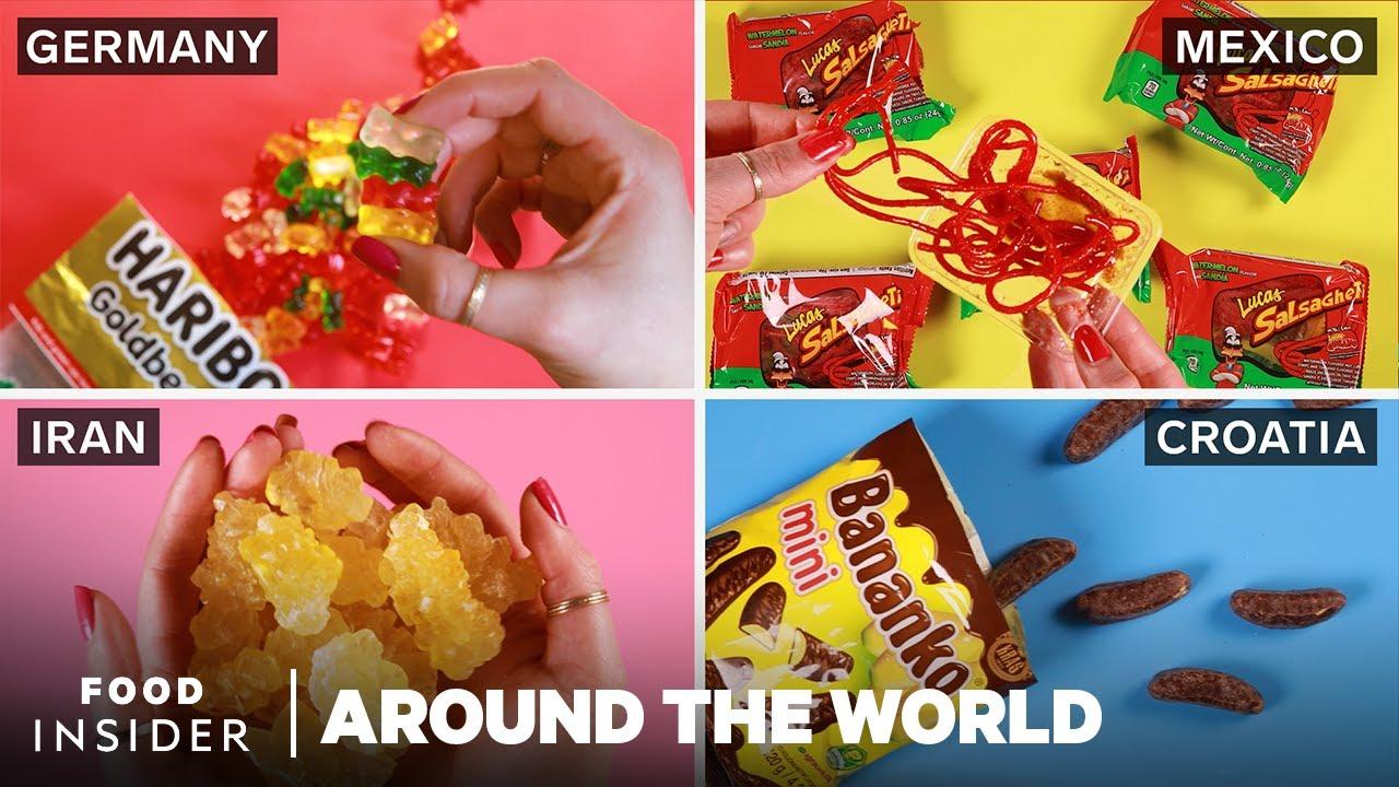 Candy From Around The World   Around The World