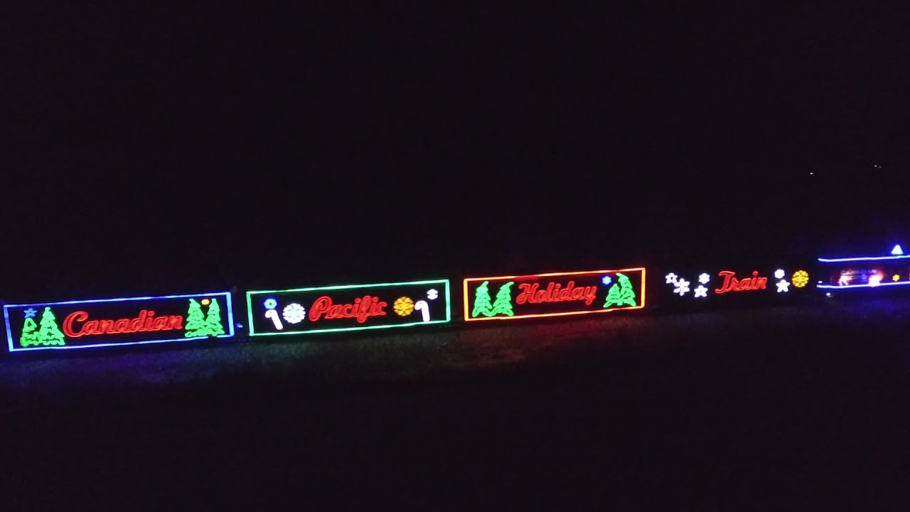 canadian pacific holiday train 2015 hd youtube