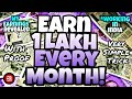 EARN 1 LAKH PER MONTH ! | WITH PROOF | SIMPLE TRICK | WORKING IN INDIA | My Earnings Revealed