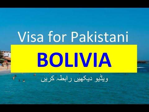 Bolivia Visa For Pakistani L Contact Us