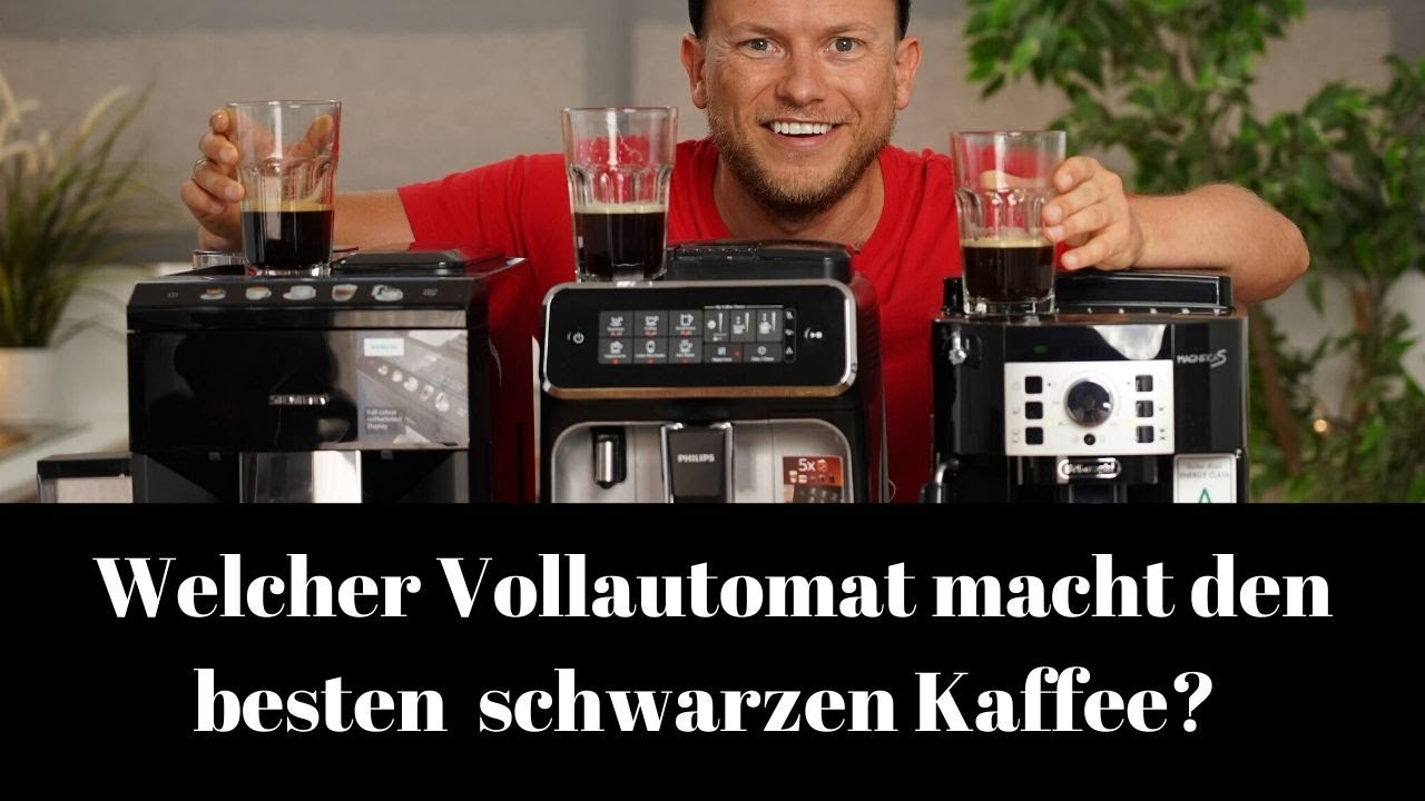 Der beste Cafe Creme aus dem Kaffeevollautomaten! Siemens vs. Delonghi vs. Philips