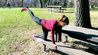 Park Workout: 17 Picnic Bench Exercises