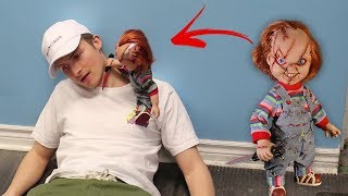 I CAN'T BELIEVE CHUCKY DOLL DID THIS!! (Scary)