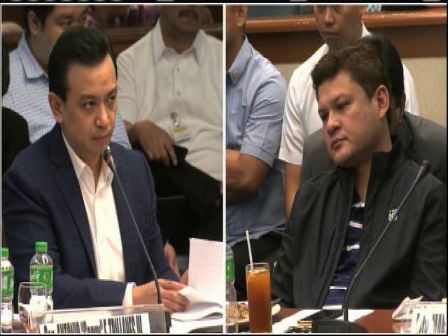 Trillanes, Paolo Duterte face off at Senate probe (part 2)
