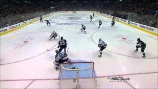 Drew Doughty slapshot goal 2-0 May 16 2013 San Joses Sharks vs LA Kings NHL Hockey