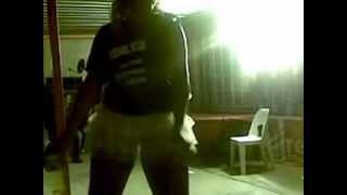 dj divalash celebrating after winning a dj battle with s a shaking hlokoloza