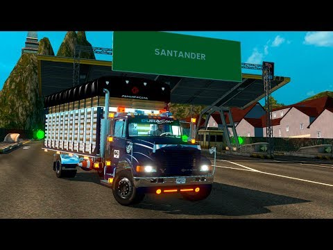 INTERNATIONAL 4700 RUMBO A BUCARAMANGA!!!! | EURO TRUCK SIMULATOR 2 | MAPA DE COLOMBIA