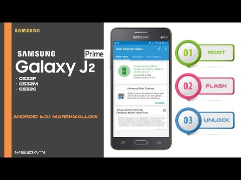 Root, Flash and Unlock SAMSUNG J2 PRIME G532F, G532M, G532G ANDROID 6.0.1
