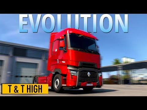 ETS2 Renault Trucks T U0026 T High EVOLUTION | Euro Truck Simulator 2