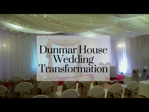 Wedding Draping at Dunmar House