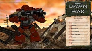 Warhammer 40,000: Dawn of War  - Game of the Year Edition Part 1 Playthrough(Mission 1 Planet Fall)
