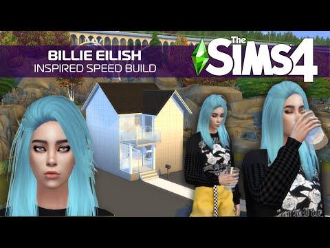 💚 Billie Eilish Inspired The Sims 4 Build 😃🏡