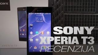 видео Xperia T3