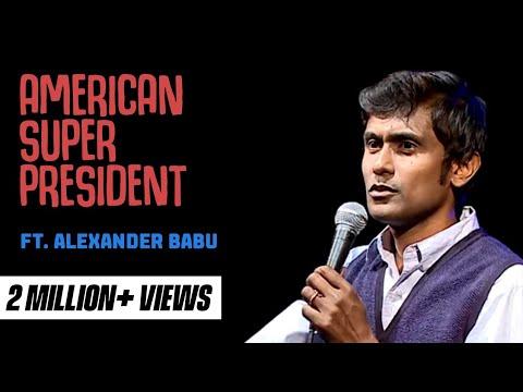 Alexander Babu - American Super President