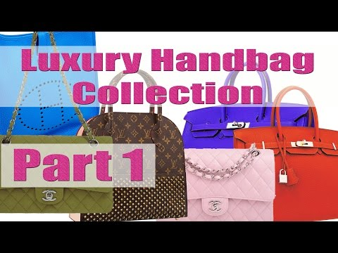 Designer Bag Collection: Chanel, Hermes, Louis Vuitton