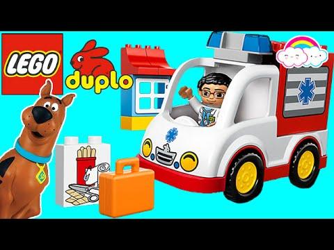 Lego Duplo Ambulance 10527 Set Scooby Doo Youtube