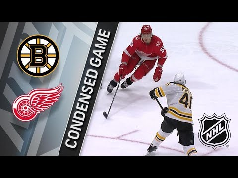 Boston Bruins vs Detroit Red Wings – Feb. 06, 2018 | Game Highlights | NHL 2017/18. Обзор матча