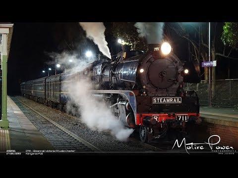 2018 06 27 - Steamrail Victoria 'Private Charter' - #8095 & #8096 - R711