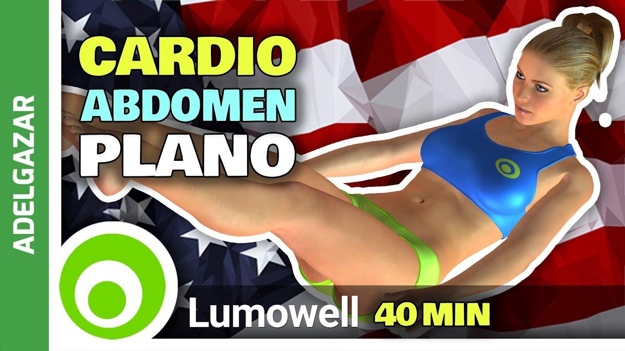 cardio 40 minutos para adelgazar rapido abdomen y cintura