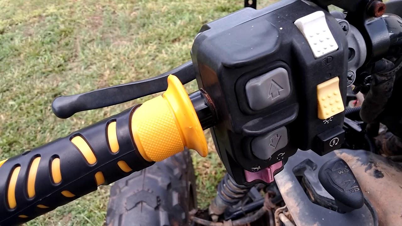 Biohazard Honda Rancher 420 Badlands 3500 winch wiring  by Keith Kelley