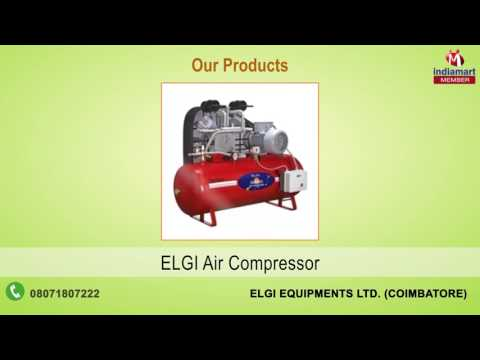 Air And Piston Compressor By Elgi Equipments Limited, Coimbatore
